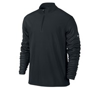Nike Mens Half Zip Cover Up Jacket 2013 (Black)