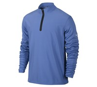 Nike Mens Half Zip Cover Up Jacket 2013 (Blue/Black)