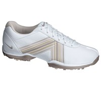 Nike Ladies Delight IV Golf Shoes 2013 (White/Vapor Mauve-Gamma Grey)