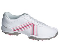 Nike Ladies Delight IV Golf Shoes 2013 (White/Sport Grey-Pink Force)