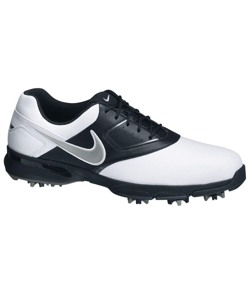 Nike Mens Heritage III Golf Shoes (White/Black) | GolfOnline