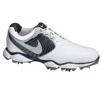 Nike Mens Lunar Control II Golf Shoes 2013 (White/Reflective Silver - Night - Platinum)