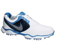 Nike Mens Lunar Control II Golf Shoes 2014 (White/Photo Blue)