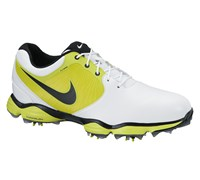 Nike Mens Lunar Control II Golf Shoes 2014 (White/Green)