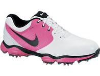 Nike Mens Lunar Control II Golf Shoes (White/Vivid Pink) 2013
