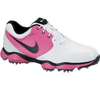 Nike Mens Lunar Control II Golf Shoes 2013 (White/Pink)