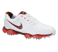 Nike Mens Lunar Control II Golf Shoes 2014 (White/Red)