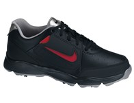 Nike Remix II Junior Golf Shoes (Black/Silver) 2014