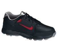 Nike Junior Remix II Golf Shoes 2014 (Black/Black/Metallic Silver)