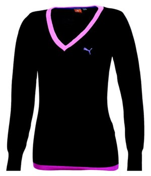 Puma Golf Ladies Solid Knitted Sweater