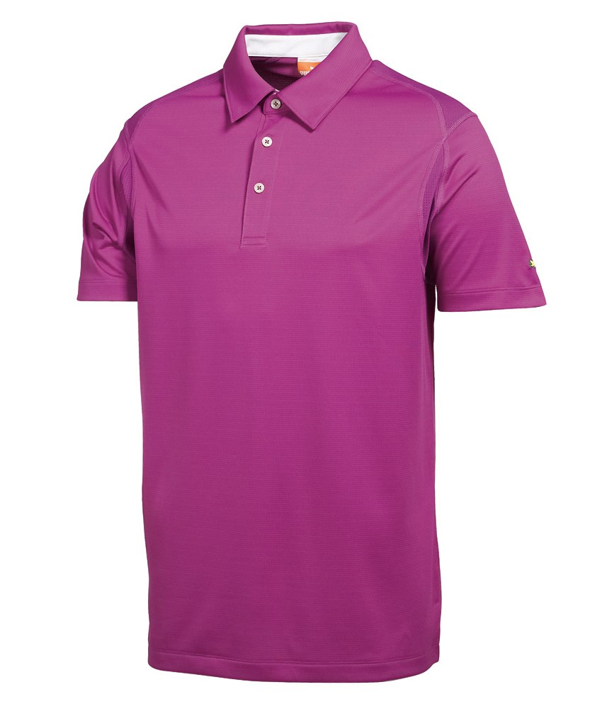 Puma Golf Mens Tech Polo Shirt Golfonline