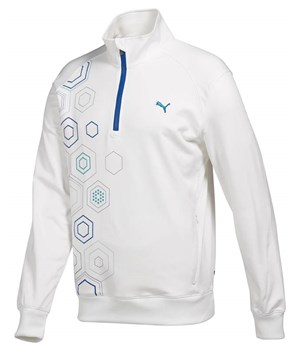 Puma Golf Mens 1/4 Zip Popover Fleece