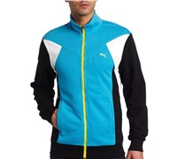Puma Golf Mens Color Block Track Jacket 2013 (Vivid Blue)