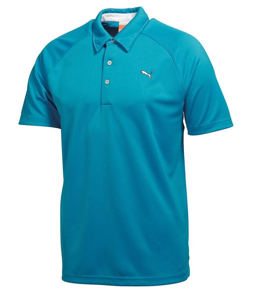 Puma mens performance polo shirt golfonline for Men s performance polo shirts