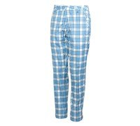 Puma Golf Mens Plaid Tech Trouser 2013 (White/Directoire Blue)