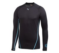 Puma Golf Mens Monoline Long Sleeve Tee (Black)
