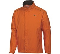 Puma Golf Mens Storm Cell Waterproof Jacket (Orange)