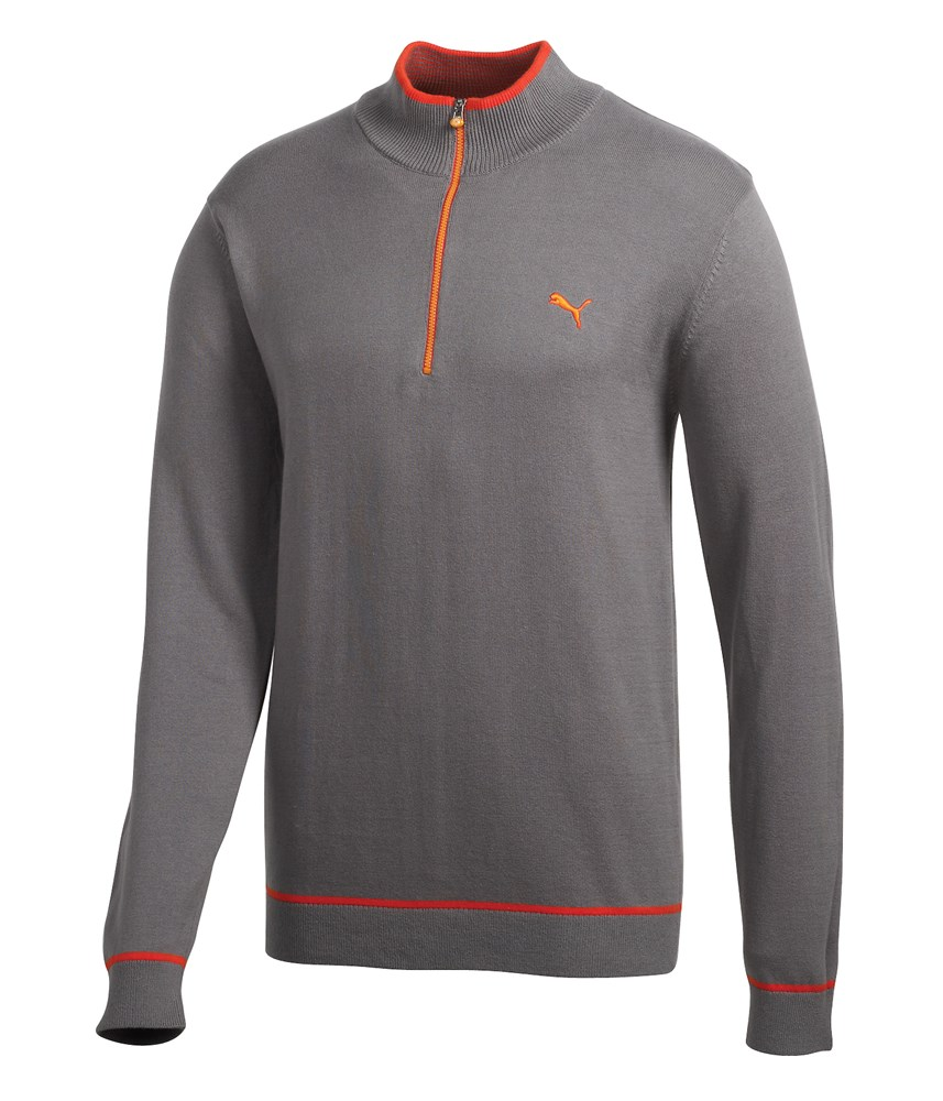 Knitting Patterns For Golf Jumpers : Puma Golf Solid Knitted Sweater