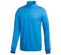 Puma Golf Junior Long Sleeve 1/4 Zip Top (Brilliant Blue)