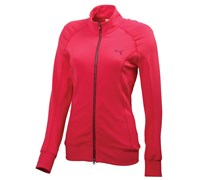 Puma Golf Ladies Solid Slim Track Jacket (Pink)