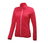 Puma Golf Ladies Full Zip Knit Jacket (Pink)