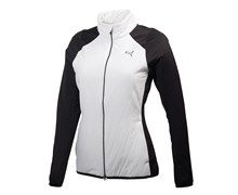 Puma Ladies Versa Cat Jacket (White/Black)