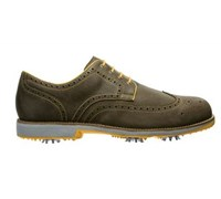 FootJoy Mens City Golf Shoes 2014 (Tobacco/Yellow)