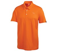 Puma Golf Mens Tech Polo Shirt 2014 (Vibrant Orange)