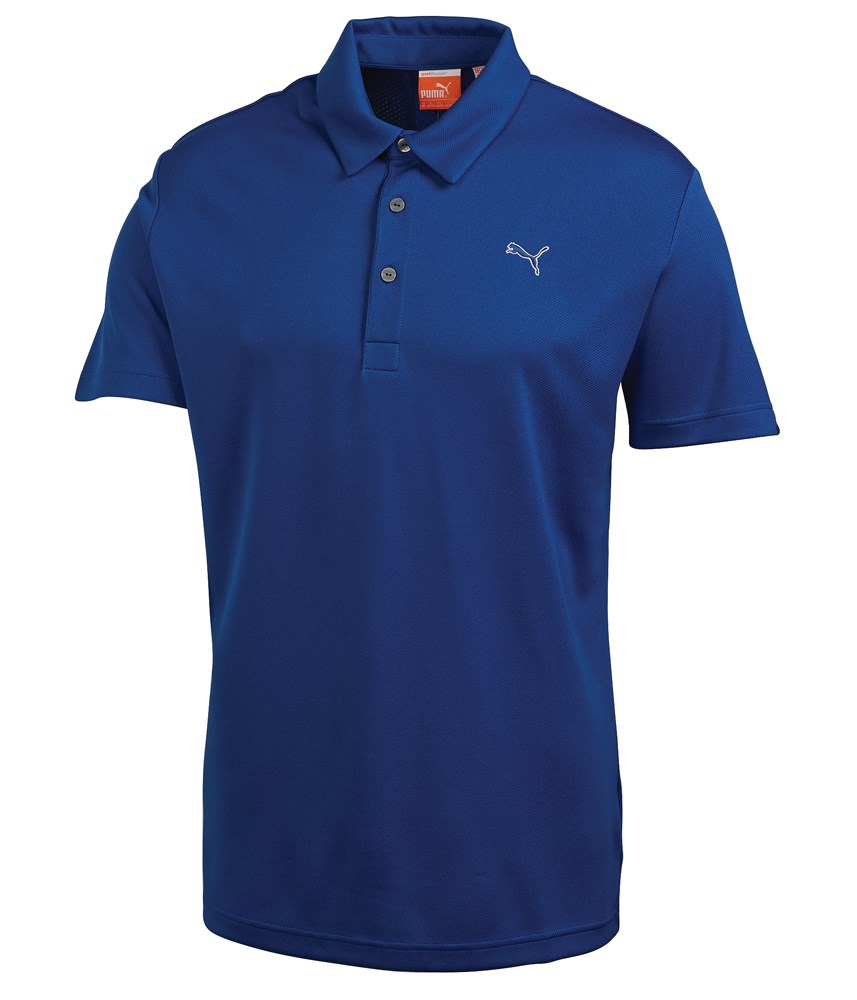 Puma Mens Tech Polo Shirt Golfonline