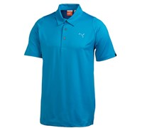 Puma Golf Mens Duo Swing Polo Shirt 2014 (Blue Aster)