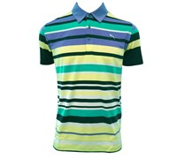 Puma Golf Mens Road Map Polo Shirt (Blue Aster)