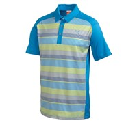 Puma Golf Mens Raglan Digi Polo Shirt (Blue Aster)