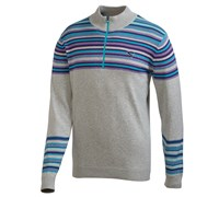 Puma Golf Mens Half Zip Sweater 2014 (Light Grey)