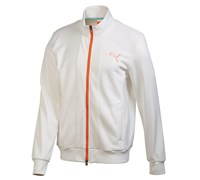Puma Golf Mens Knit Stripe Jacket 2014 (White)