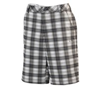 Puma Golf Mens Blur Plaid Tech Shorts (Black Multi)