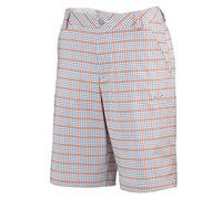 Puma Golf Mens Plaid Tech Shorts 2014 (Tradewinds/Multi)