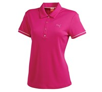 Puma Golf Ladies Tech Polo Shirt 2014 (Beetroot)