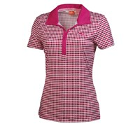 Puma Golf Ladies Dot Pattern Polo Shirt 2014 (White)