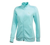 Puma Golf Ladies Full Zip Knit Jacket 2014 (Cerise)