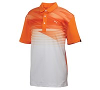 Puma Golf Junior Indigital Polo Shirt 2014 (Orange)