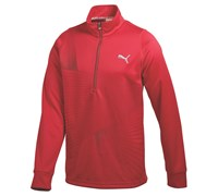 Puma Golf Mens Graphic 1/4 Zip Popover 2014 (New Crimson)