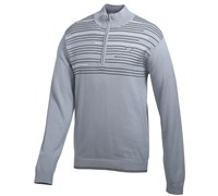 Puma Golf Mens 1/4 Zip Novelty Sweater 2014 (Tradewinds)