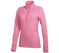 Puma Golf Ladies 1/4 Zip Long Sleeve Top 2014 (Fuchsia)