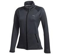 Puma Golf Ladies Full Zip Knit Jacket (Black)