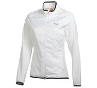 Puma Golf Ladies Light Wind Golf Jacket 2014 (White/Black)