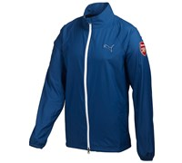 Puma Golf Full Zip Limited Edition Arsenal Wind Jacket (Blue)