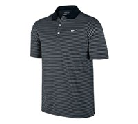 Nike Mens Victory Striped Polo Shirt 2013 (Black/White)