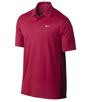 Nike Mens TW Engineered Stripe Polo Shirt 2014