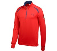 Puma Golf Long Sleeve Limited Edition Arsenal Golf Top (Red)