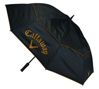 Callaway Ladies 60 Inch Uptown Double Canopy Umbrella (Black/Brown)
